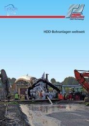 HDD-Bohranlagen weltweit - Prime Drilling GmbH