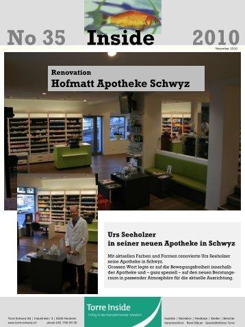 No 35 2010 Inside - Torre Schweiz AG