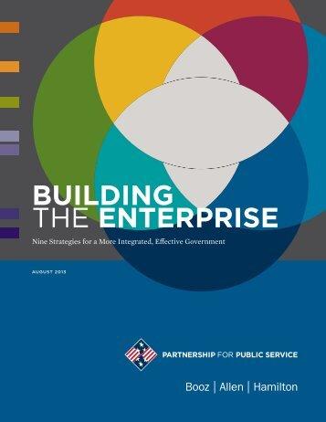 Building the Enterprise - Booz Allen Hamilton