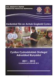 Adroddiad Blynyddol y Cynllun Cydraddoldeb Strategol 2011 - 2012