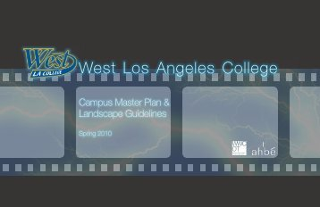 2009 Facilities Master Plan - West Los Angeles College