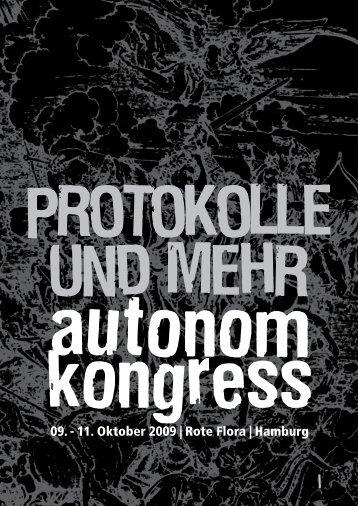 Protokolle und mehr - autonom kongress - blogsport.de
