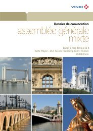 le texte des projets de résolutions présentés à l'assemblée ... - Vinci