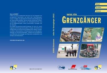 Infos für Grenzgänger - EURES Bodensee