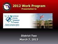 2012 Work Program