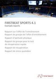 FIRSTBEAT SPORTS 4.1