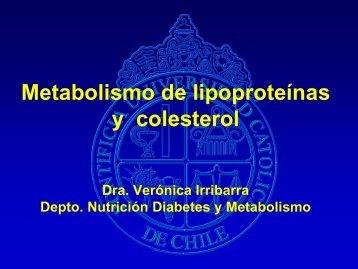 Metabolismo de Lipoproteinas y Colesterol