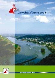 Umwelterklärung 2006 - Werner & Mertz GmbH