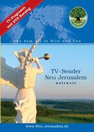 TV-Sender Neu Jerusalem