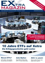 10 Jahre EtFs in Europa - EXtra-Magazin