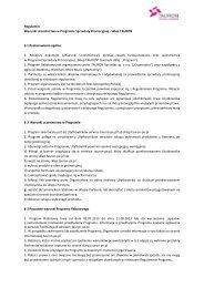 Regulamin Sklepu - Promocje TAURON