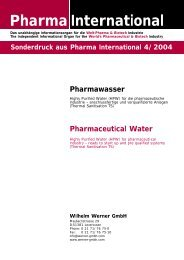 Pharma International - werner-gmbh.com
