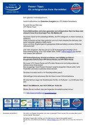 Newsletter Dezember 2010 (PDF) - VPV Makler