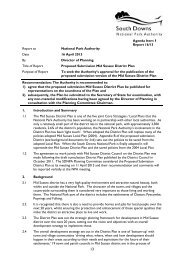 Report to National Park Authority Date 16 April 2013 By Director of ...