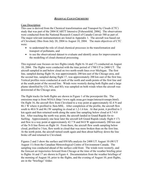 Case 5 details and instructions
