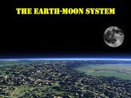 THE EARTH-MOON SYSTEM 地球(Earth)