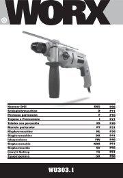 WU303.1 - Worx Power Tools