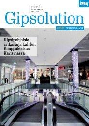 Kipsipohjaisia ratkaisuja Lahden Kauppakeskus Karismassa - Knauf