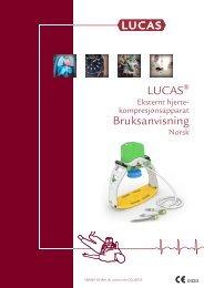 LUCAS Bruksanvisning - Lucas CPR