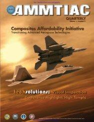 AMMTIAC Quarterly, Vol. 1, No. 3 - Composites Affordability Initiative