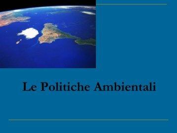 politiche_ambientali - Dipartimento di Biologia
