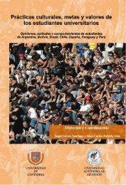 Prácticas culturales, metas y valores de los estudiantes universitarios