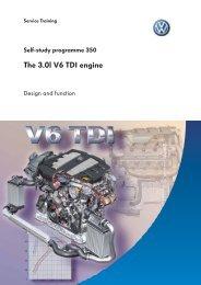 SSP 350 – The 3.0l V6 TDI engine - Volkspage