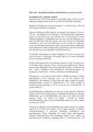 Afrusning i forbindelse med tilbud efter servicelovens § 110 - Social