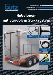 Mit dem Kabelbaumstecksystem einfach und schnell ... - Werner Butz