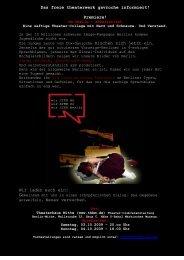 Das freie theaterwerk gavroche informiert - freies theaterwerk ...