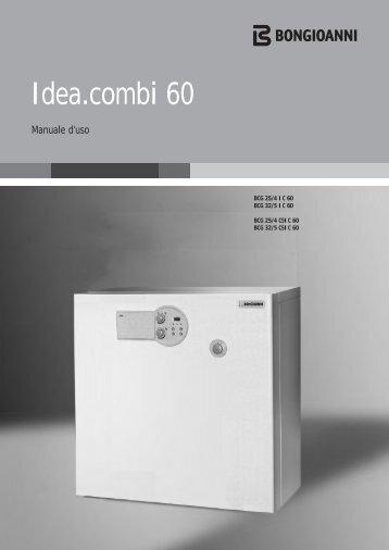 Idea.combi 60 - Bongioanni Caldaie