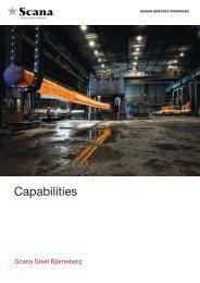 Capabilities - Scana Industrier ASA