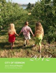 City of Vernon   2012 Annual Report