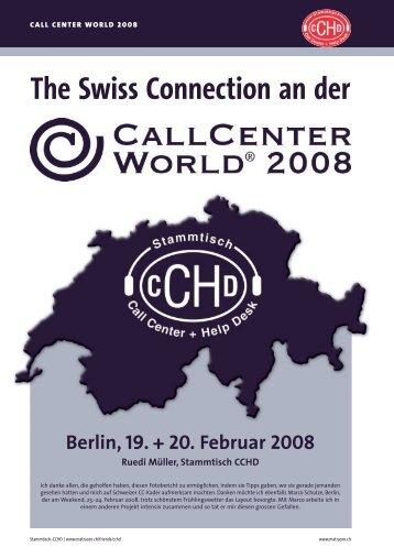 Berlin, 19. + 20. Februar 2008 Ruedi Müller ... - Matracon AG