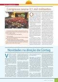 congresso consolida unidade em torno de um sindicalismo ... - Contag - Page 3