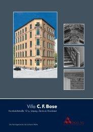 Villa CF Bose. Das Objekt im Detail - DGG - Deutsche Gesellschaft ...