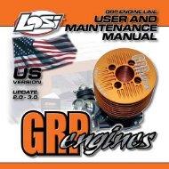 GRP .21 Buggy Engine Manual - E-flite