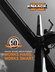 KnAAcK® secure jobsite storage - Simpson Toolbox
