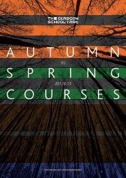 Continuing EduCation dEPaRtMEnt - Glasgow School of Art