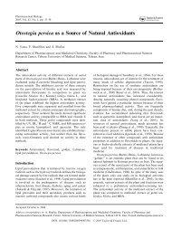 Otostegia persica as a Source of Natural Antioxidants