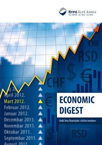 Economic Digest (Mart 2012.) - Hypo Alpe-Adria