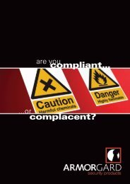 compliant… complacent? - Rapid Welding and Industrial Supplies Ltd