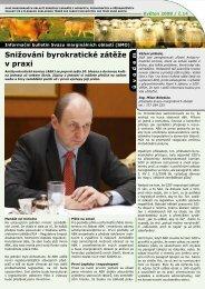 Informační bulletin SMO - květen 2008 - Svaz marginálních oblastí