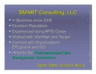 SMART Consulting, LLC - UC Irvine Extension