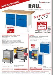 Aktionsprospekt Bestseller 2012 - Rau GmbH