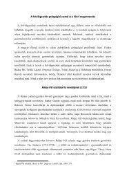 A felvilágosodás pedagógiai eszméi és a főúri ... - Dr. Fehér Katalin
