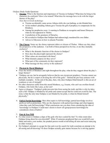 oedipus rex vocabulary study guide format the vocabulary quiz rh yumpu com Oedipus Rex Mask Project Oedipus Blind