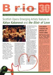 Kátya Kabanová and the Elixir of Love - Scottish Opera