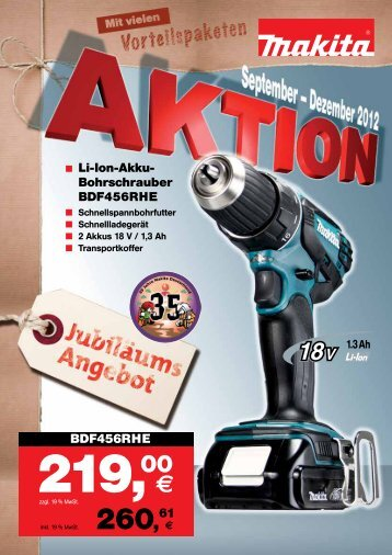 makita-aktion - Bosch-Service Goslar