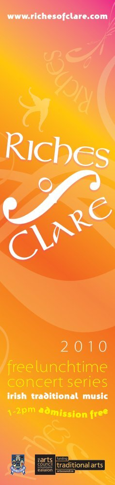 free lunchtime concert series 2010 - Clare County Library